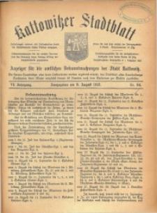 Kattowitzer Stadtblatt, 1913, Jg. 6, nr64