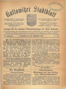 Kattowitzer Stadtblatt, 1913, Jg. 6, nr73