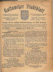 Kattowitzer Stadtblatt, 1913, Jg. 6, nr84