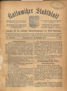 Kattowitzer Stadtblatt, 1913, Jg. 6, nr98