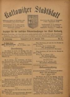 Kattowitzer Stadtblatt, 1916, Jg. 9, nr9