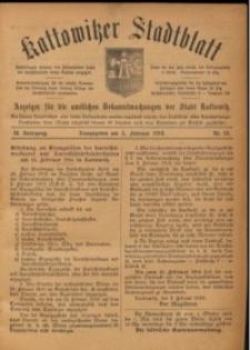 Kattowitzer Stadtblatt, 1916, Jg. 9, nr10