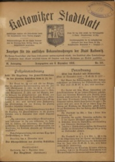 Kattowitzer Stadtblatt, 1916, Jg. 9, nr101