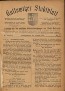 Kattowitzer Stadtblatt, 1916, Jg. 9, nr17