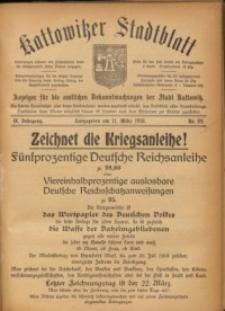 Kattowitzer Stadtblatt, 1916, Jg. 9, nr22