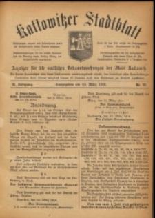 Kattowitzer Stadtblatt, 1916, Jg. 9, nr26