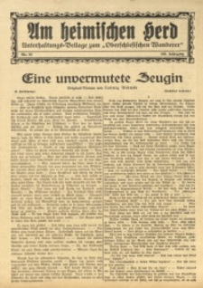 Am Heimischen Herd, 1930, Jg. 102, Nr. 82