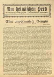 Am Heimischen Herd, 1930, Jg. 102, Nr. 85