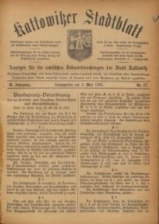 Kattowitzer Stadtblatt, 1916, Jg. 9, nr37