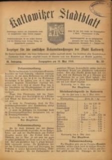 Kattowitzer Stadtblatt, 1916, Jg. 9, nr39