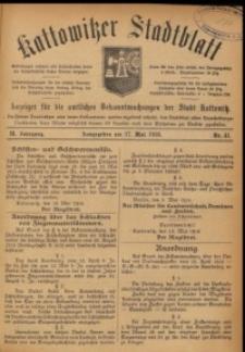 Kattowitzer Stadtblatt, 1916, Jg. 9, nr41