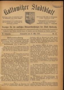 Kattowitzer Stadtblatt, 1916, Jg. 9, nr44