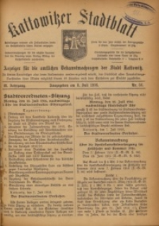 Kattowitzer Stadtblatt, 1916, Jg. 9, nr56