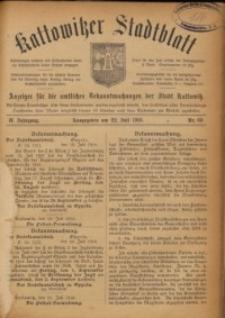Kattowitzer Stadtblatt, 1916, Jg. 9, nr60