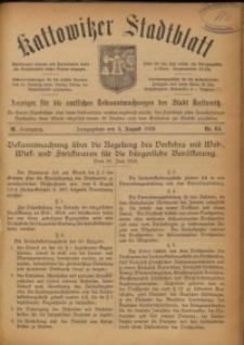 Kattowitzer Stadtblatt, 1916, Jg. 9, nr64