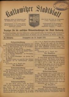 Kattowitzer Stadtblatt, 1916, Jg. 9, nr66