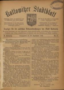Kattowitzer Stadtblatt, 1916, Jg. 9, nr81