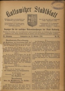 Kattowitzer Stadtblatt, 1916, Jg. 9, nr86