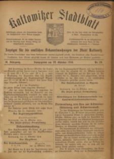 Kattowitzer Stadtblatt, 1916, Jg. 9, nr89