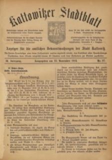 Kattowitzer Stadtblatt, 1916, Jg. 9, nr97