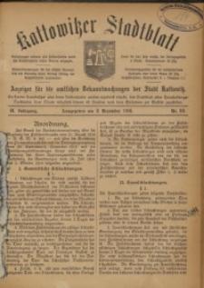 Kattowitzer Stadtblatt, 1916, Jg. 9, nr99