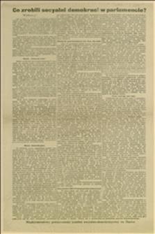 Odezwa wydana przez Międzynarodowy polsko-czeski komitet socjalno-demokratyczny na Śląsku przed wyborami do Rady Państwa w 1907 r.