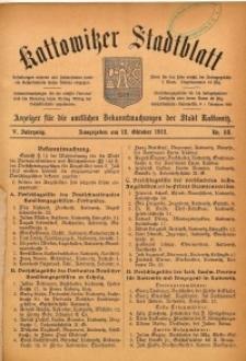 Kattowitzer Stadtblatt, 1912, Jg. 5, nr82