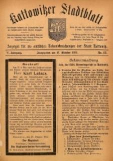 Kattowitzer Stadtblatt, 1912, Jg. 5, nr83