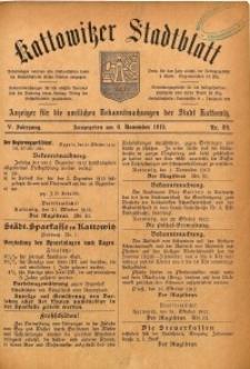 Kattowitzer Stadtblatt, 1912, Jg. 5, nr89