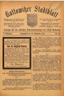 Kattowitzer Stadtblatt, 1912, Jg. 5, nr94