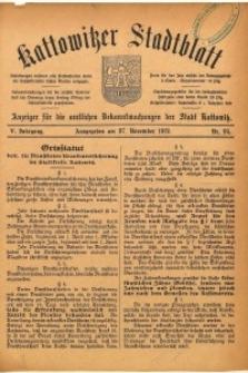 Kattowitzer Stadtblatt, 1912, Jg. 5, nr95