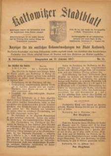 Kattowitzer Stadtblatt, 1917, Jg. 10, nr14