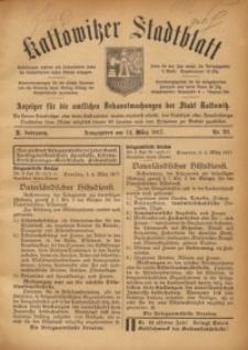 Kattowitzer Stadtblatt, 1917, Jg. 10, nr20
