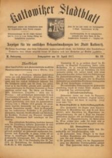 Kattowitzer Stadtblatt, 1917, Jg. 10, nr29