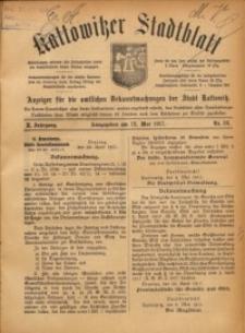 Kattowitzer Stadtblatt, 1917, Jg. 10, nr36