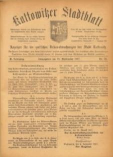 Kattowitzer Stadtblatt, 1917, Jg. 10, nr73