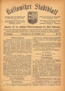 Kattowitzer Stadtblatt, 1917, Jg. 10, nr94