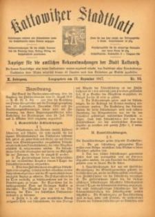 Kattowitzer Stadtblatt, 1917, Jg. 10, nr99