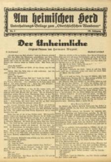 Am Heimischen Herd, 1933, Jg. 105, Nr. 5