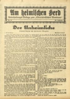 Am Heimischen Herd, 1933, Jg. 105, Nr. 16