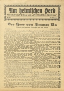 Am Heimischen Herd, 1933, Jg. 105, Nr. 68