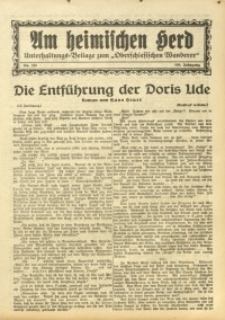 Am Heimischen Herd, 1933, Jg. 106, Nr. 121
