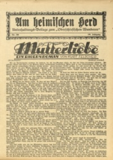 Am Heimischen Herd, 1933, Jg. 106, Nr. 149