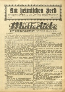 Am Heimischen Herd, 1933, Jg. 106, Nr. 158