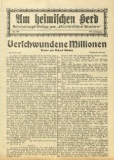 Am Heimischen Herd, 1933, Jg. 106, Nr. 301