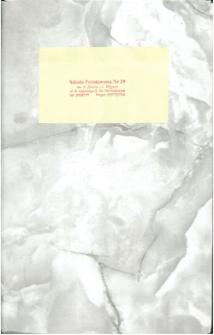 Kronika Szkoły [Podstawowej nr 29 Katowice (1)]
