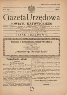 Gazeta Urzędowa Powiatu Katowickiego, 1936, nr52