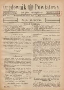 Orędownik Powiatowy na Powiat Tarnogórski, 1934, R. 8, nr18/19