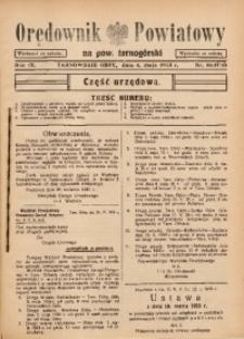 Orędownik Powiatowy na Powiat Tarnogórski, 1935, R. 9, nr16/17/18
