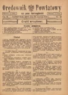 Orędownik Powiatowy na Powiat Tarnogórski, 1935, R. 9, nr25
